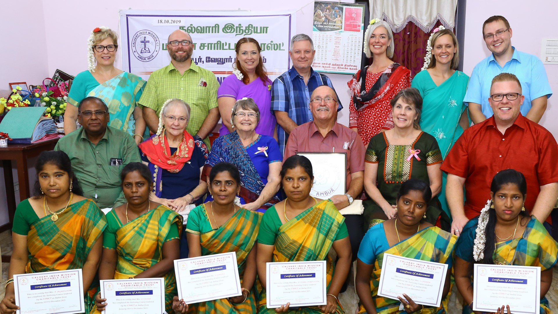 Calvary India Mission Newsletter Jan 2020
